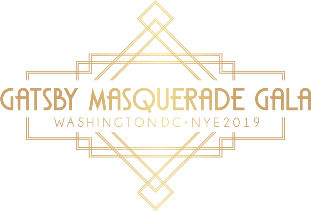 Great Gatsby Masquerade New Year's Eve 2019 Gala in DC Logo
